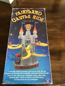 Fairyland Castle Ride Battery Operated Tested Working! Dah Yang Toys 1985