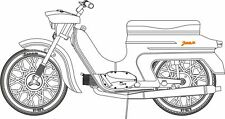 Res-IM RI-4802 Resin Kit 1/48 JAWA 50 20/21 PIONYR Motorcycle