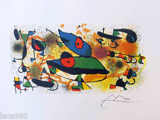 Sculptures II JOAN MIRO Offset Lithograph Facsimile Signature