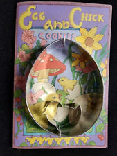 Easter Egg Chicken Cookie Cutter and Cookie Mix with Directions Gift Set