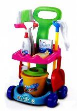 Putzwagenset Putzwagen Kinderputzwagen Kinderwagenset Reinigungstrolley Putzset