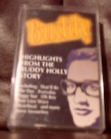 buddy highlights from the buddy holly story cassette