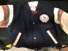 GENUINE OLYMPIC BOMBER JACKET - GREAT CONDITION.  Collectors Item