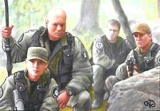 ACEO Original ~ Jack, Sam, Jack & Teal'c ~ Stargate Team