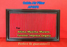 AF4278 for Altima Murano Maxima I30 QX60 Pathfinder Premium Engine Air Filter