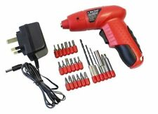 4.8V ELECTRIC RECHARGEABLE BATTERY CORDLESS SCREWDRIVER DRILL SET BITS WARRANTY