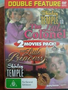 The Little Colonel / The Little Princess. Shirley Temple. DVD. Double Feature