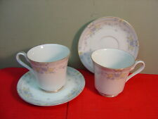 Mikasa GRANVILLE Two Cup and Saucer Sets