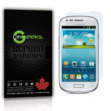 CitiGeeks® Samsung Galaxy S3 mini Screen Protector HD Glossy GT-I8190 [3-Pack]