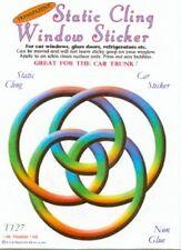 Celtic Friendship Circle Static Cling Window Sticker