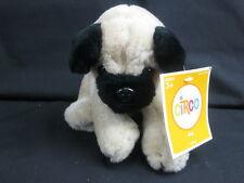 NEW CIRCO TAN BLACK PUG PUPPY DOG BIG BROWN EYES PLUSH STUFFED ANIMAL TOY