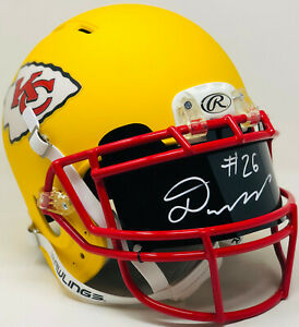 PSA/DNA Kansas City DAMIEN WILLIAMS Signed Autographed AUTHENTIC Helmet VISOR