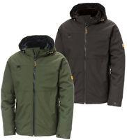 Caterpillar Cat® apparel Chinook Men Work Rain Jacket Waterproof Hooded Workwear