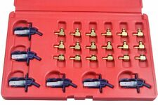 24pc Flow Meter Adaptor Set for Siemens Bosch Denso Delphi Injectors B5231