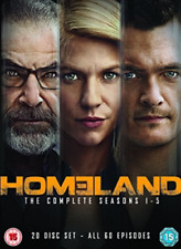 Homeland Season 1 2 3 4 5 Series One Two Three Four Five DVD