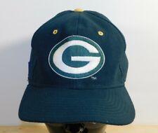 Vtg 1980s 1990s GREEN BAY PACKERS NFL PRO LINE STARTER Baseball Hat 6 5/8-7 1/4