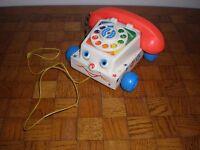 Fisher-price lot vintage téléphone