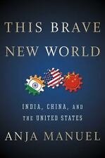 THIS BRAVE NEW WORLD - MANUEL, ANJA - NEW HARDCOVER BOOK