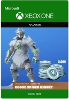 Fortnite Rogue Spider + 2000 V-Bucks (Microsoft Xbox One) - Digital Code
