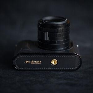 Leica Q2 case / Golden eye edition / Arte di mano