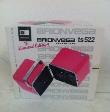 Brionvega - Radio TS522 Limited Edition in Pink . Neu & OVP