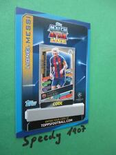 Topps Champions League 2016 17 limited Edition Messi GOLD Code Card 2017