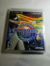 New Playstation 3 PS3 Little League World Series Baseball 2010 Video Sealed Game