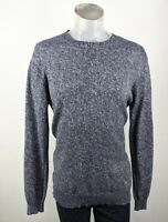 French Connection Navy Mix 100% Cotton Crew Neck Jumper Large