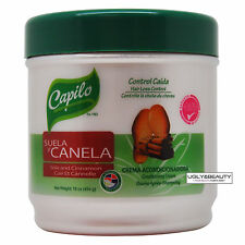 Capilo Suela y Canela Sole and Cinnamon Hair Conditioning Cream 16 Oz With Gift