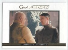 Game of Thrones Season 3 RELATIONSHIP GOLD PARALLEL Trading Card Insert DL3