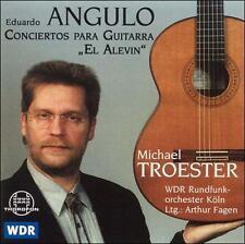 """Eduardo Angulo: Conciertos para guitarra """"El Alevin"""" (CD, 1999, Thorofon)"""