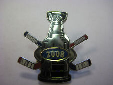 LOT of 12 PINS -NHL Stanley Cup 2008 Dueling Hockey Sticks Logo Pin