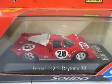 Solido Ferrari 512 S Daytona 70 NIP