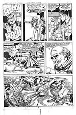 Superman Family Original Comic Book Art # 193 Page 12 Joe Staton 1978 Superboy