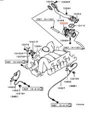 MR560710 Mitsubishi Valve egr,