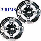 TWO 10x5 4/144 3+2 ITP SS112 Rims Wheels some Kawasaki Suzuki Can Am Arctic Cat