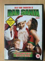 Bad Santa DVD 2003 Christmas Comedy Movie Classic with Billy Bob Thornton