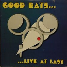 GOOD RATS 'LIVE AT LAST' US IMPORT DOUBLE LP