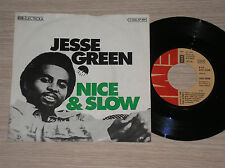 "JESSE GREEN - NICE AND SLOW / EASY - 45 GIRI 7"" GERMANY"