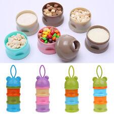 3 Layers Infant Baby Milk Powder Formula Dispenser Feeding Case Box Container