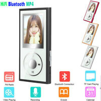 8GB Bluetooth 4.1 HiFi MP3 MP4 Player Recorder pen Media Video FM Radio Lot New