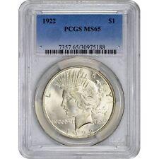Peace Dollar PCGS MS65 (Random Year)