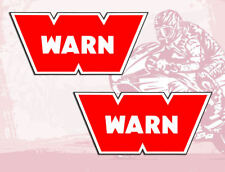 2pcs Warn Stickers Vinyl Car 4x4 Off Road Jeep Auto Moto Tuning Motorcycle B 209