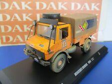 Die cast 1/43 Modellino Camion Truck Mercedes Unimog Paris-Dakar 1984