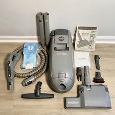 Vtg ELECTROLUX RENAISSANCE C104H Canister Vacuum Power Nozzle Hose Accessories
