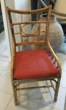 Milling Road (Baker Furniture) Ratten Chair w/Cane Seat