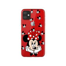 Funda gel transparente dibujo Minnie enamorada para Iphone 11 pro max