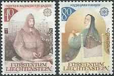 Timbres Europa Liechtenstein 757/8 ** lot 6364