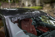 SPEEDHUNTERS CARBON STYLE SCREEN HEADER / WINDSHIELD BANNER - OFFICIAL SALE
