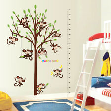 180CM Tree & Monkeys Growth Chart Kids removable wall sticker wall decal